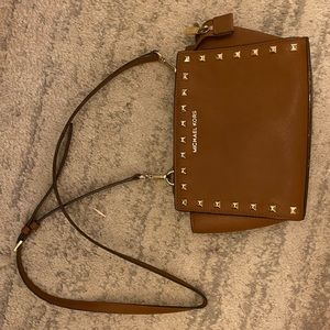 Michael Kors Selma Small Studded Crossbody